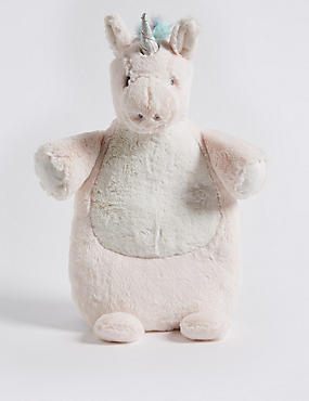 Unicorn Hot Water Bottle, MULTI, catlanding