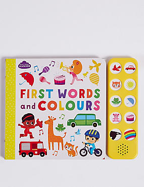 My Noisy Book of First Words & Colours, , catlanding