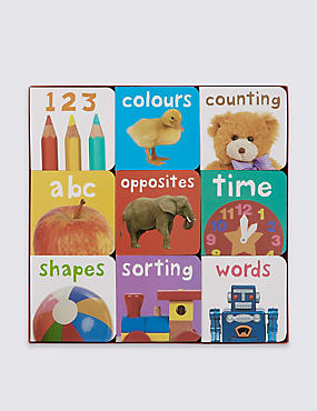 9 Chunky Books for Little Fingers