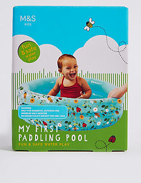 My 1st Paddling Pool, , catlanding