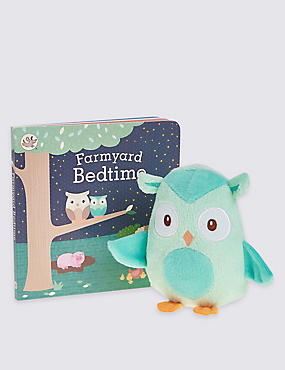 Owl Book & Plush Set
