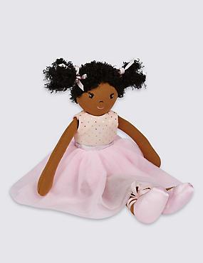 Isabella Ballerina Rag Doll (44cm), , catlanding
