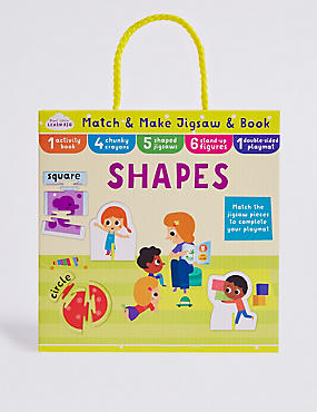 Match & Make Shapes Puzzle