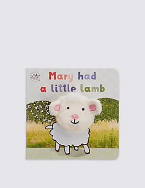 Finger Puppet Mary had a Little Lamb