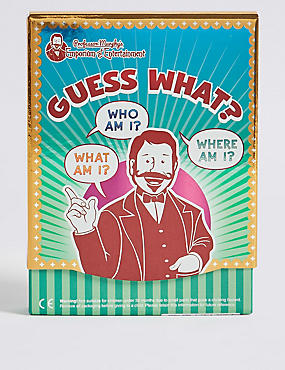 Professor Murphy's Guess What? Quiz Cards