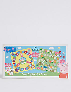 Peppa Pig™ Box of 3 Games