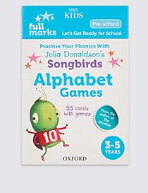 Alphabet Games Book