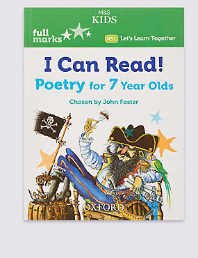 I Can Read! Poetry for 7 Year Olds Book