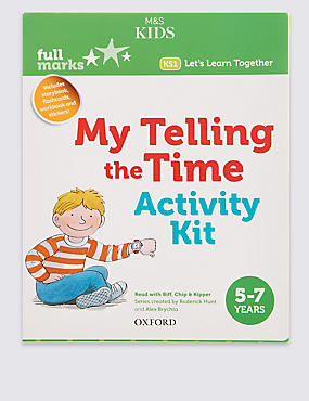My Telling The Time Activity Kit Book