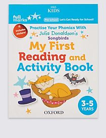 Full Marks My First Reading & Activity Book