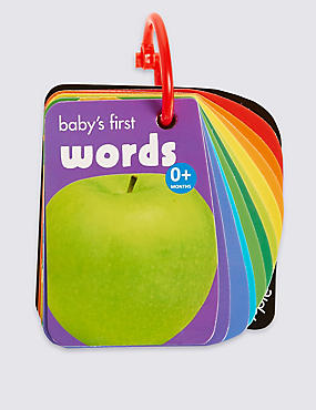 Baby's First Words Book