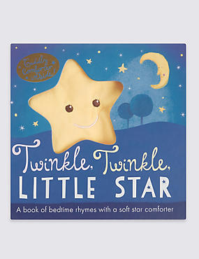 Twinkle Twinkle Little Star Book & Comforter