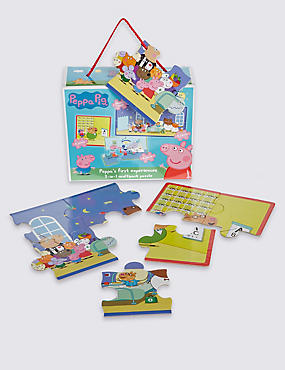 Peppa's First Experiences 3 in 1 Puzzle