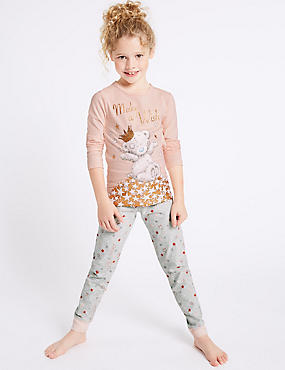 Cotton Pyjamas with Stretch (2-16 Years)