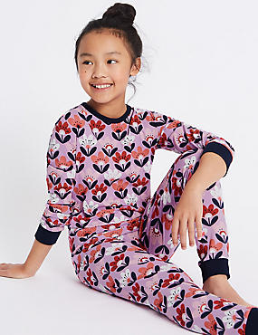 All Over Print Cotton Pyjamas with Stretch (1-16 Years)