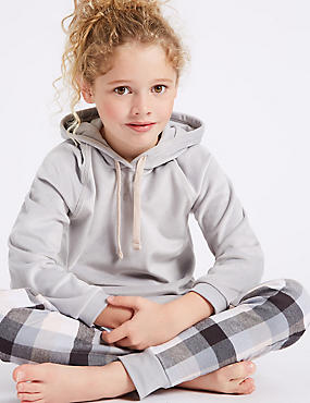 Hooded Long Sleeve Pyjamas (7-16 Years)