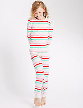 Cotton Rich Stripe Pyjama (1-16 Years)