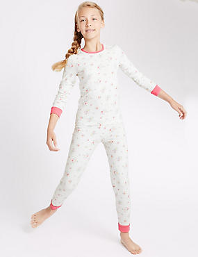 Cotton Rich Pretty Floral Pyjamas (1-16 Years)