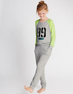 Crew Neck Pyjamas (6-16 Years)