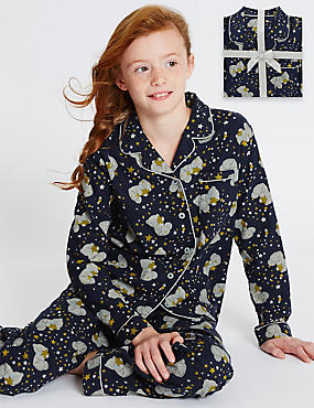 Pure Cotton Tatty Teddy Pyjamas (1-16 Years)