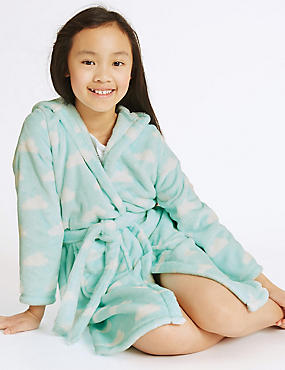 Cloud Print Dressing Gown (1-16 Years)