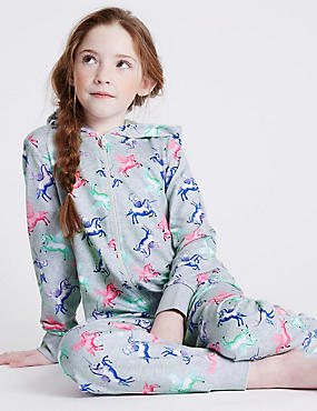 Pure Cotton Unicorn Onesie (1-16 Years)