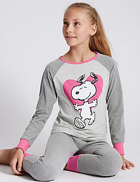 Snoopy™ Long Sleeve Pyjamas (6-16 Years)