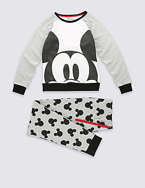 Cotton Rich Mickey Mouse Pyjamas (6-16 Years)