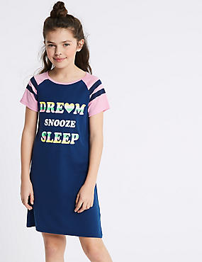 Printed Nightdress (3-16 Years)