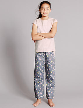 Pure Cotton Floral Print Pyjamas (1-16 Years)