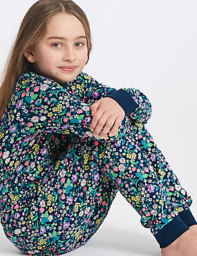 Ditsy Print Pyjamas with Stretch (3-16 Years)