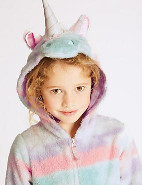Rainbow Unicorn Onesie (1-16 Years)