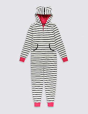 Pure Cotton Striped All-in-One (6-16 Years)