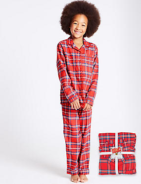 Cotton Rich checked Pyjamas (1-16 Years)