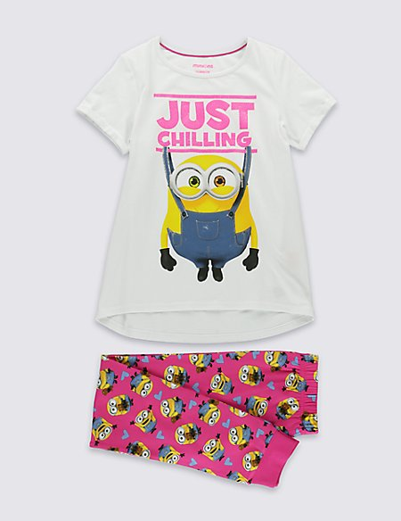 Cotton Rich Despicable Me™ Minion Pyjamas (3-14 Years)