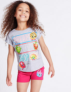 Cotton Rich Shopkins Short Pyjamas (3-10 Years)