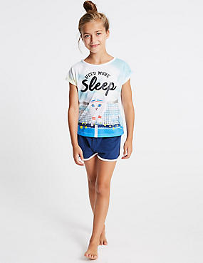 Printed Short Pyjamas (3-16 Years)