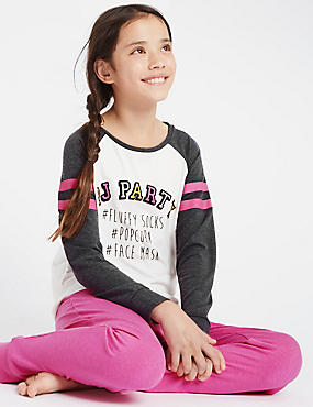 Long Sleeve Party Pyjamas (6-16 Years)