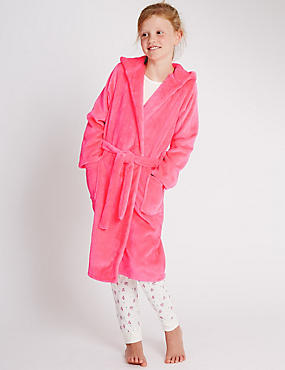 Long Sleeve Dressing Gown (6-16 Years)