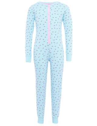 Pure Cotton Ditsy Floral Soft & Cosy Onesie Clothing