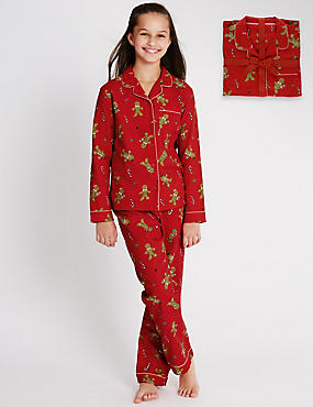 Bailed Gingerbread Pyjamas (1-16 Years)
