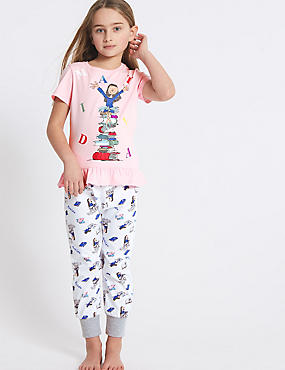 Matilda Pure Cotton Pyjamas (3-11 Years)