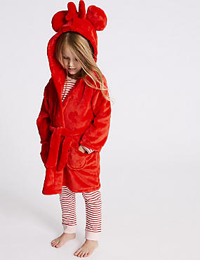 Minnie Mouse™ Dressing Gown (2-10 Years), RED MIX, catlanding