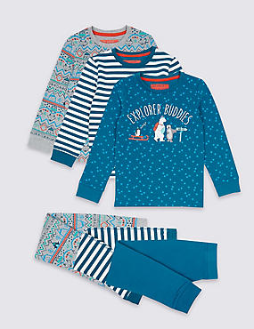 3 Pack Pyjamas (9 Months - 8 Years)