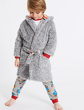 Dressing Gowns with Belt (1-8 Years)