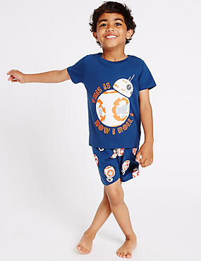 Pure Cotton Star Wars™ Short Pyjamas (1-8 Years)