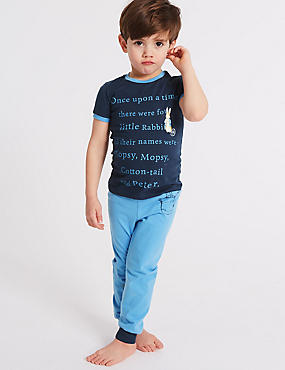 Peter Rabbit™ Pure Cotton Pyjamas (1-6 Years)