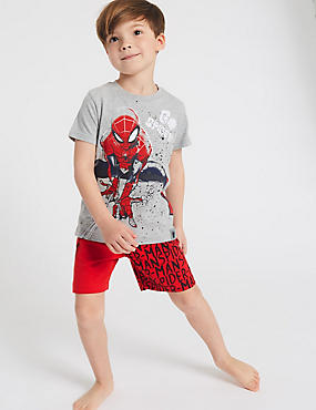 Spider-Man™ Cotton  Pyjamas (2-8 Years), RED MIX, catlanding