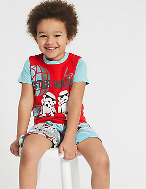 Star Wars™ Pure Cotton Pyjamas (2-8 Years)