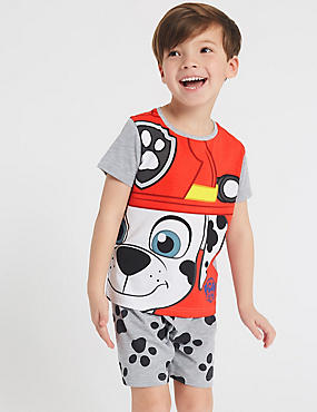 PAW Patrol™ Short Pyjamas (1-7 Years), RED MIX, catlanding